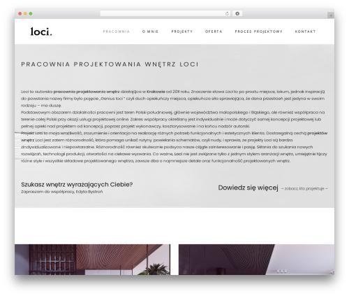 Best WordPress template Starflix - loci.com.pl