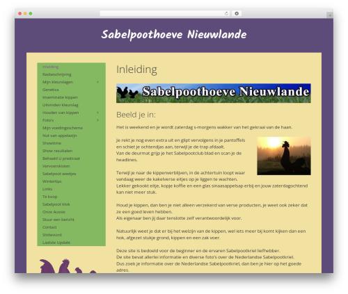 GeneratePress theme free download - sabelpoothoeve.nl