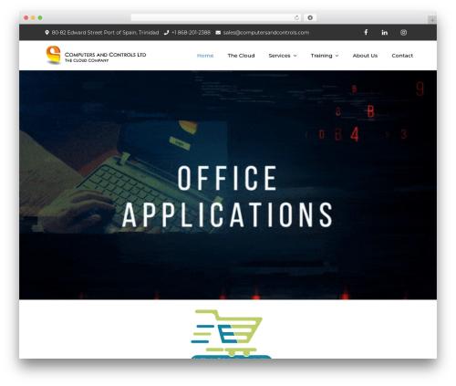 Meilleur Business company WordPress theme - computersandcontrols.com