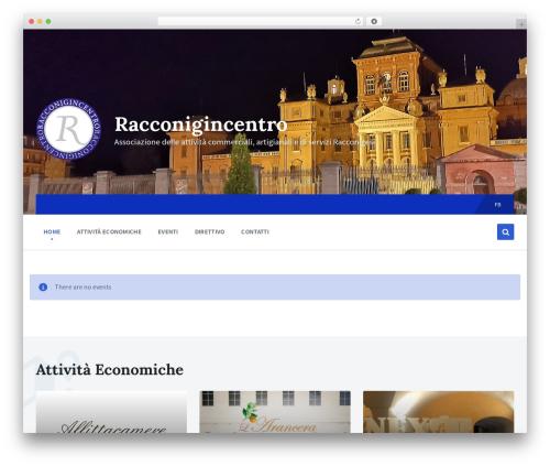 Pressville WordPress theme - racconigincentro.it