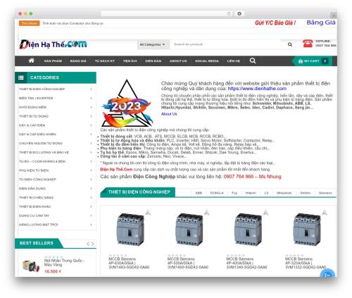 SW Max Shop best WooCommerce theme - dienhathe.com