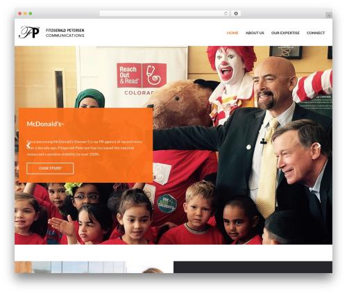 WordPress template Charity Child Theme - fitzgeraldpetersen.com