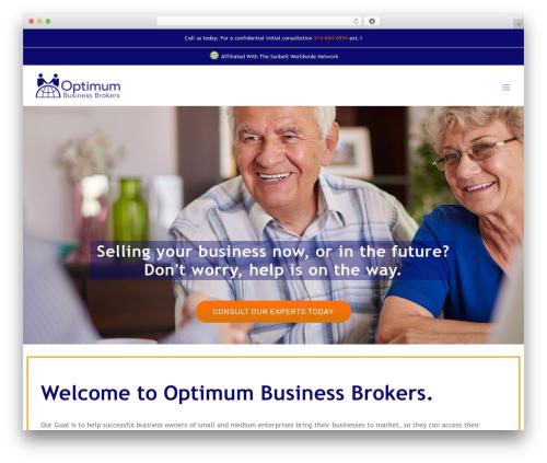 WordPress theme Avada - optimumbusinessbrokers.com