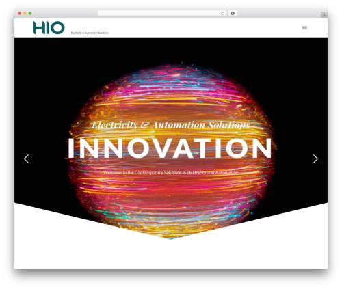 WP Nito WordPress theme - hio-group.com