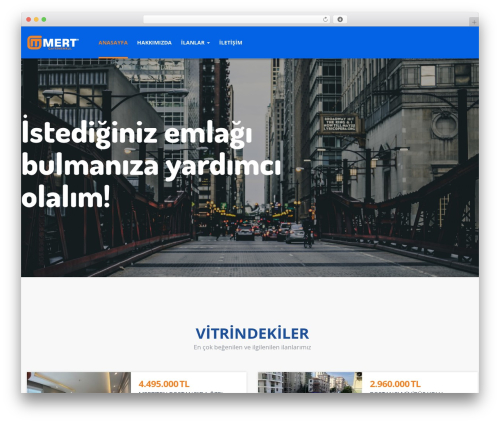 ApusHome WordPress theme - mertemlak.com