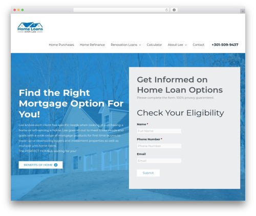 Astra theme WordPress free - homeloanswithlee.com