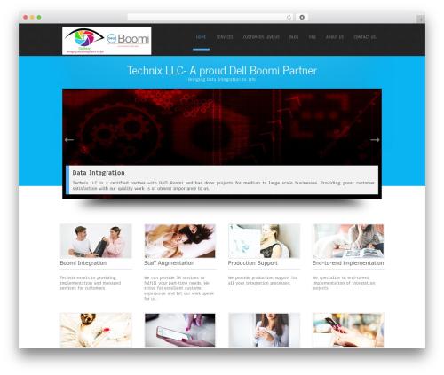 Best WordPress template Simplicity Lite - technixtech.com