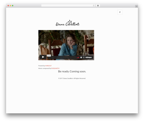 Betheme WordPress website template - dianacavallioti.com
