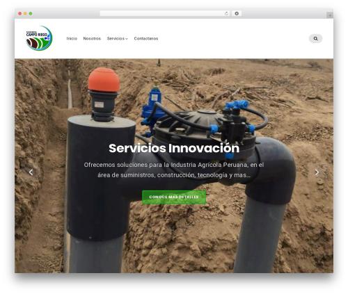 Businessx free WordPress theme - ingenieriacamporiego.com