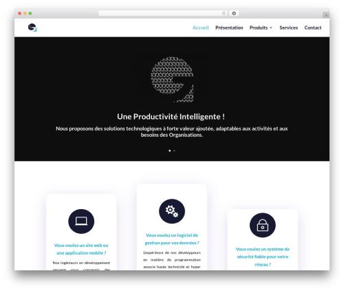 Divi template WordPress - gitechsn.com