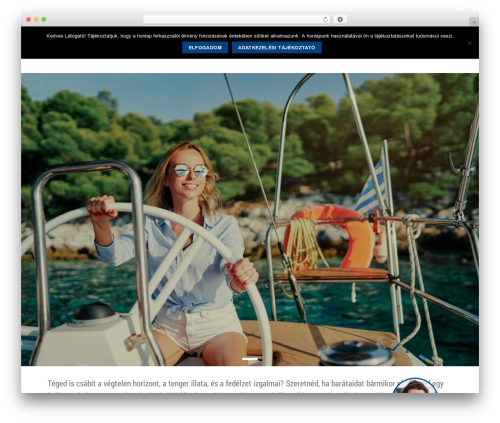 Flatsome template WordPress - gabriellasailing.com