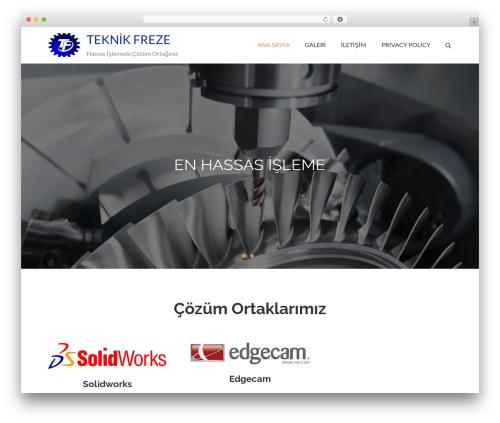 Pet Business WordPress theme - teknikfreze.com