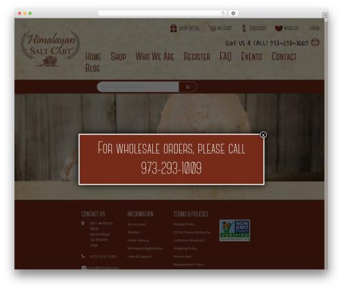 WordPress woo-save-abandoned-carts plugin - himalayansaltcart.com