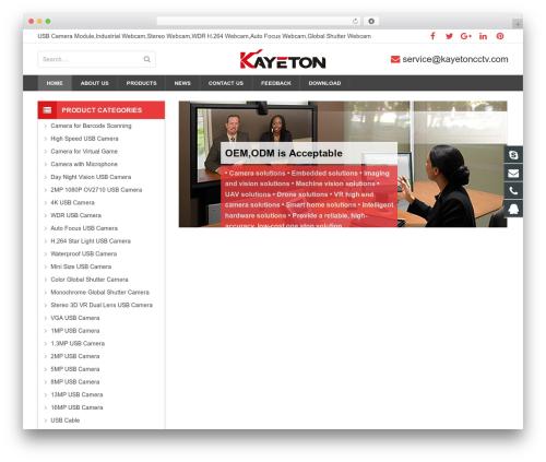 sohowp WP theme - kayetoncctv.com