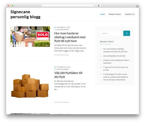 Theme WordPress Cell - signecane.com