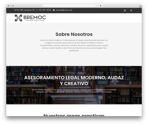 Theme WordPress Meilleur Business - bremoc.com