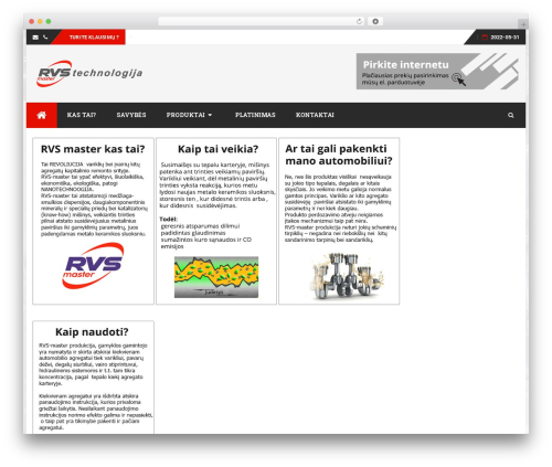 Best WordPress theme bFastMag Pro - rvstechnologija.lt
