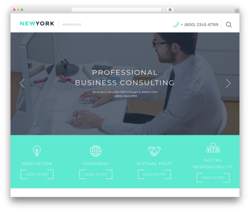 Cherry Framework template WordPress - fondotreesse.it