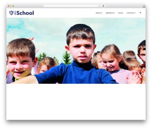 Crossway WordPress theme design - ischool.solutions