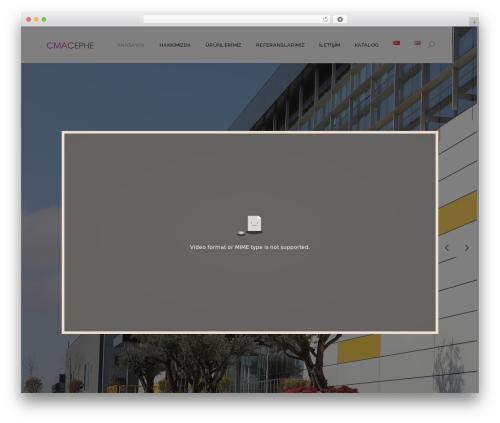 Dessau WordPress theme - cmacephe.com