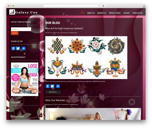 Fashionbuzz WP theme - galaxycos.com