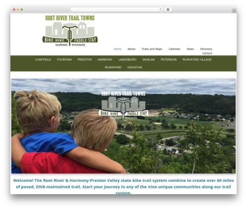 Genesis top WordPress theme - rootrivertrail.org
