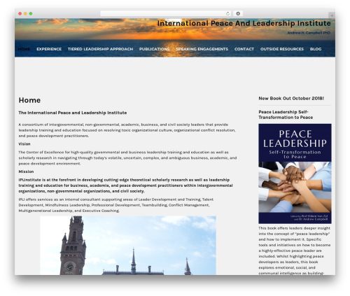 Institution WordPress store theme - iplinstitute.com