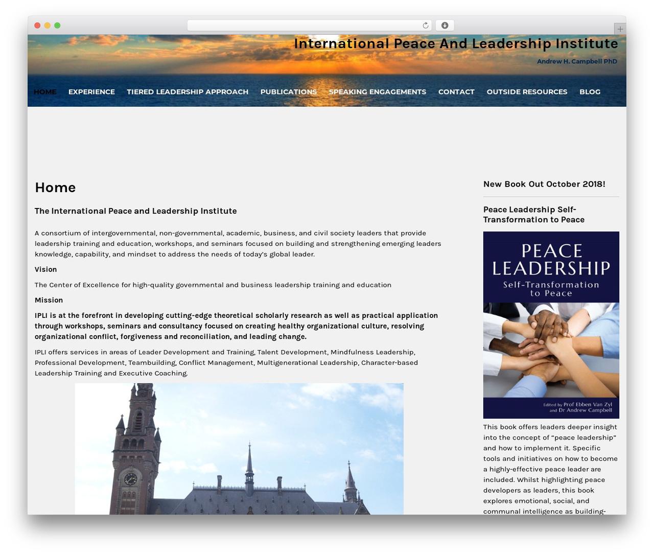 Institution WordPress store theme - iplinstitute.com