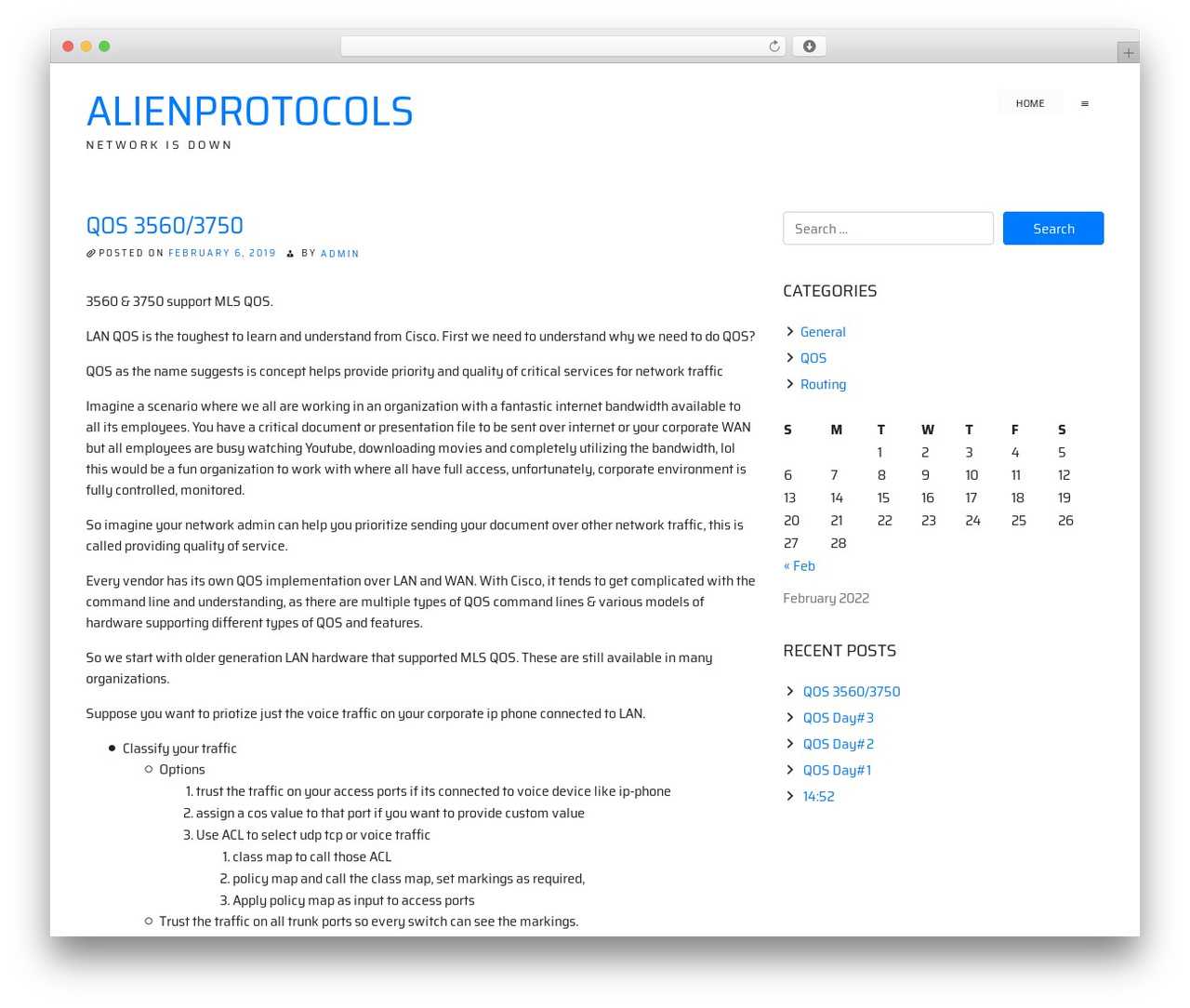 ioBoot WordPress theme design - alienprotocols.com
