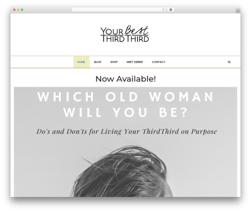 Malina top WordPress theme - yourbestthirdthird.com
