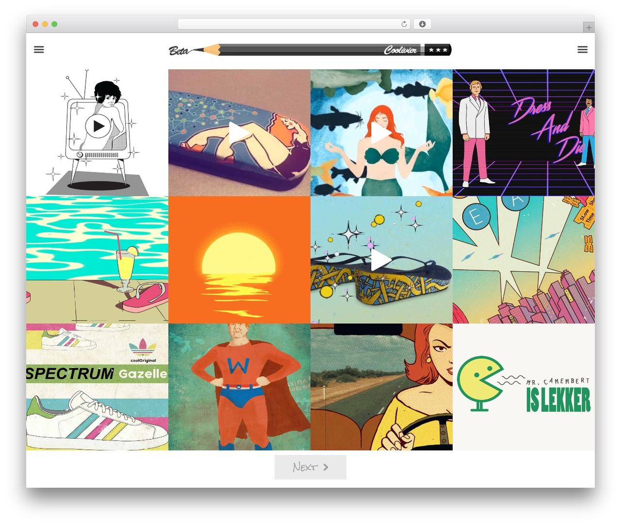 Oren best WordPress theme - coolivier.com