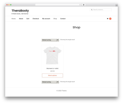 StoreDesign WordPress store theme - therabooty.com
