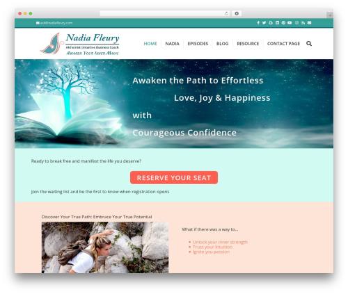 WordPress theme Beaver Builder Theme - nadiafleury.com