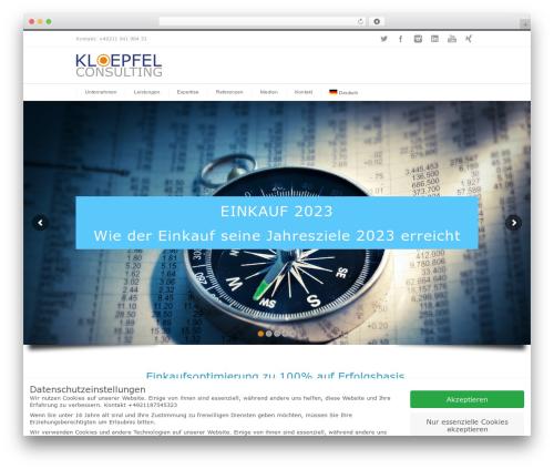 WordPress theme INOVADO - kloepfel-consulting.com