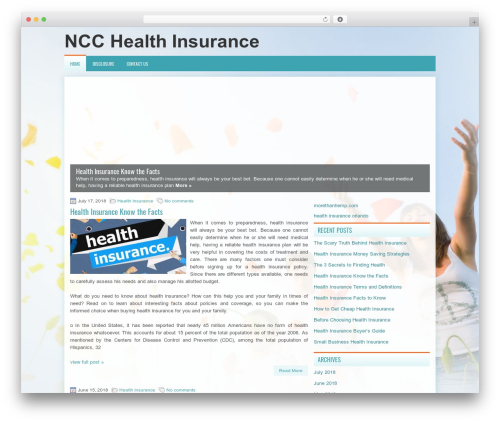 Theme WordPress TheHealth - ncc112.info