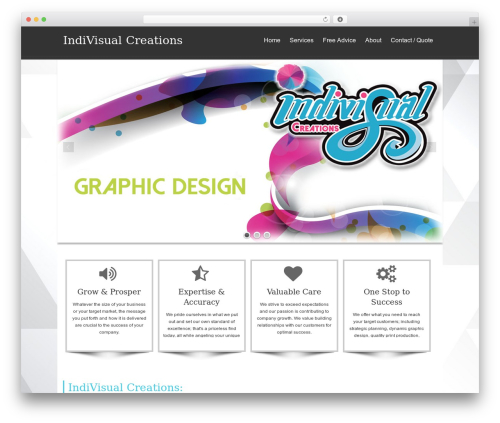 isis WordPress template free download - indivisualcreations.com