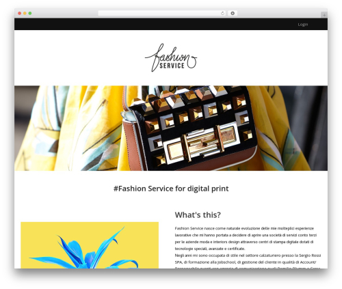 Turan fashion WordPress theme - lorenaciampi.com