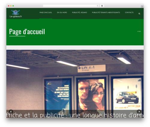 Applay best WordPress theme - le-gratos.fr
