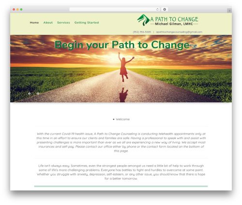 Best WordPress template Playful - apathtochange.com