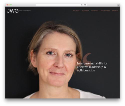 Movedo best WordPress theme - juliawarner.com