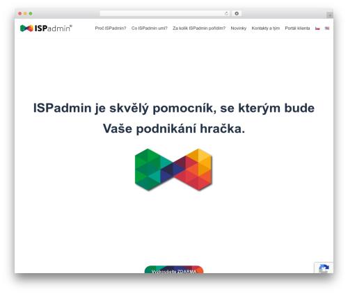 Neve WordPress theme - ispadmin.eu