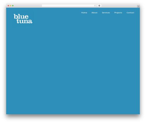 WordPress theme DPR Bruno - bluetuna.tv