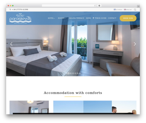 Best WordPress theme Movedo - hotel-paraskevas.com