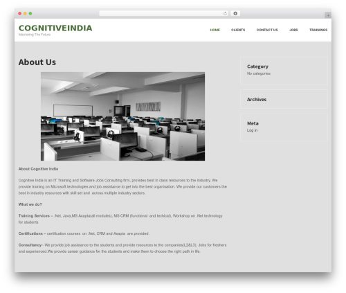 IT Solutions WordPress store theme by SKT Themes