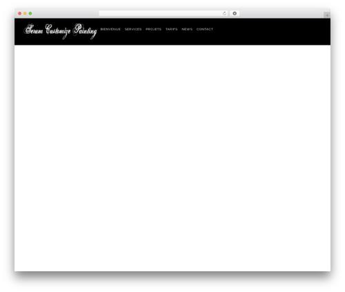 Konsulting template WordPress - serum-custom.fr