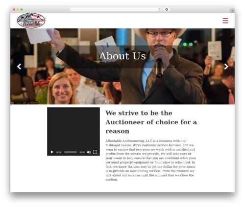 Phlox WordPress theme - affordableauctioneering.com