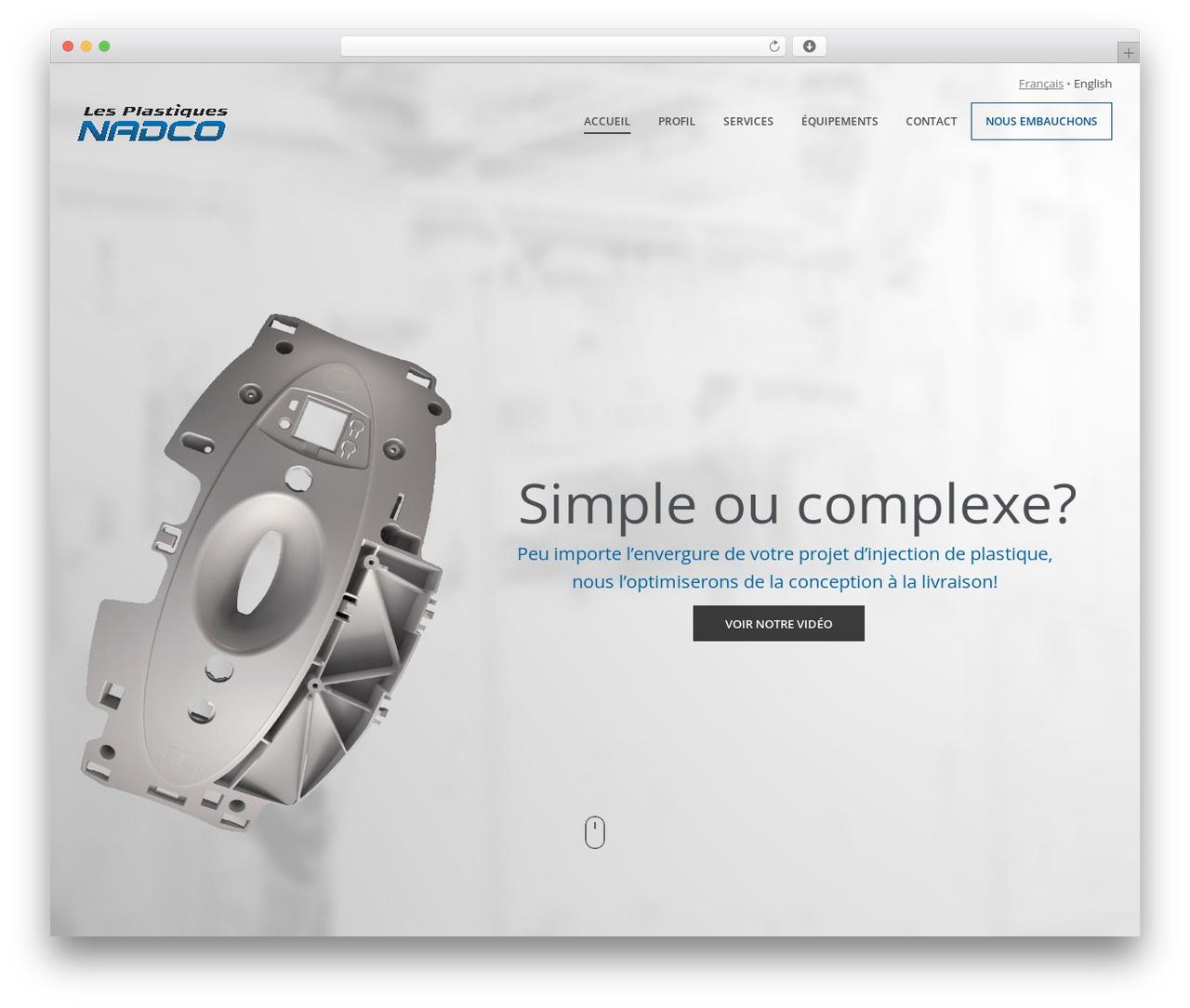 Theme WordPress Wp Haswell - plasticnadco.com