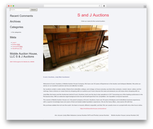 Best WordPress theme Cherry Framework - mobileauctionhouse.com