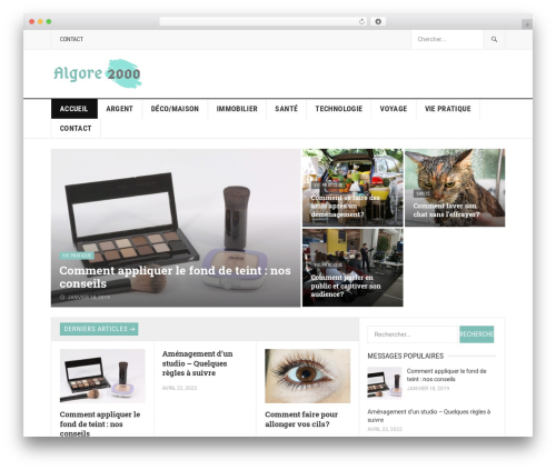 GoodPress Pro WordPress template - algore2000.com
