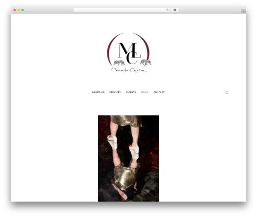 Movedo template WordPress - morlacreation.com